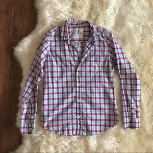 Frank & Eileen Barry Plaid Button Up Shirt